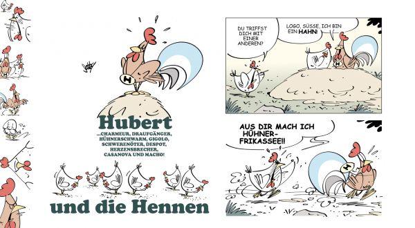 Hubert und die Hennen